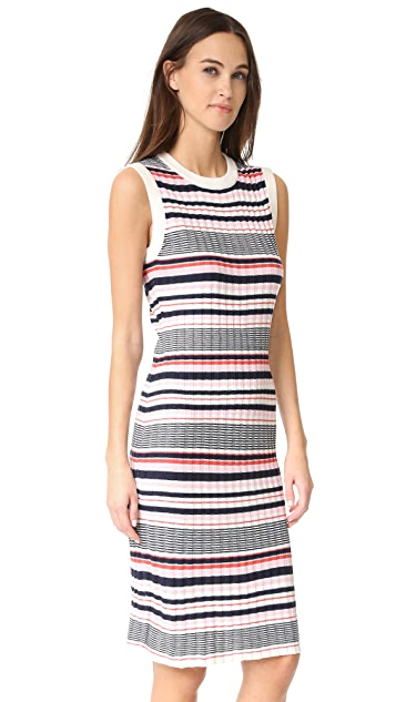 cupcakes and cashmere Walton Stripe Dress