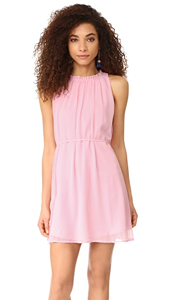 cupcakes and cashmere Zooey Trapeze Dress - Cotton Candy