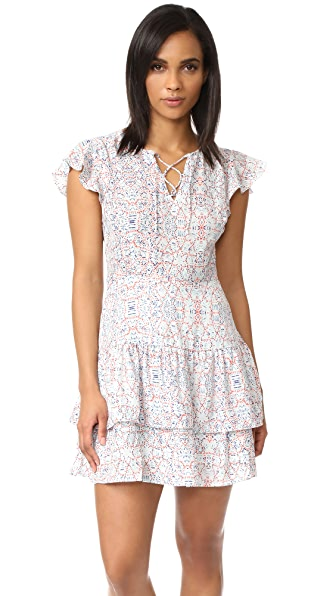 cupcakes and cashmere Kayleen Mojave Mosaic Printed Dress