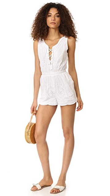 cupcakes and cashmere Brynn Eyelet Romper