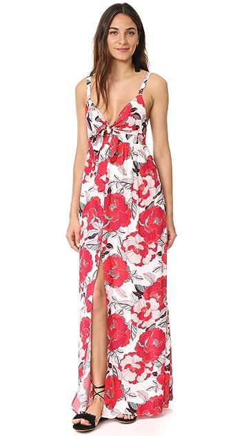 cupcakes and cashmere Thorpe Saguaro Floral Maxi Dress