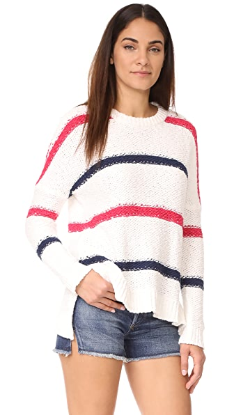 cupcakes and cashmere Madden Stripe Sweater