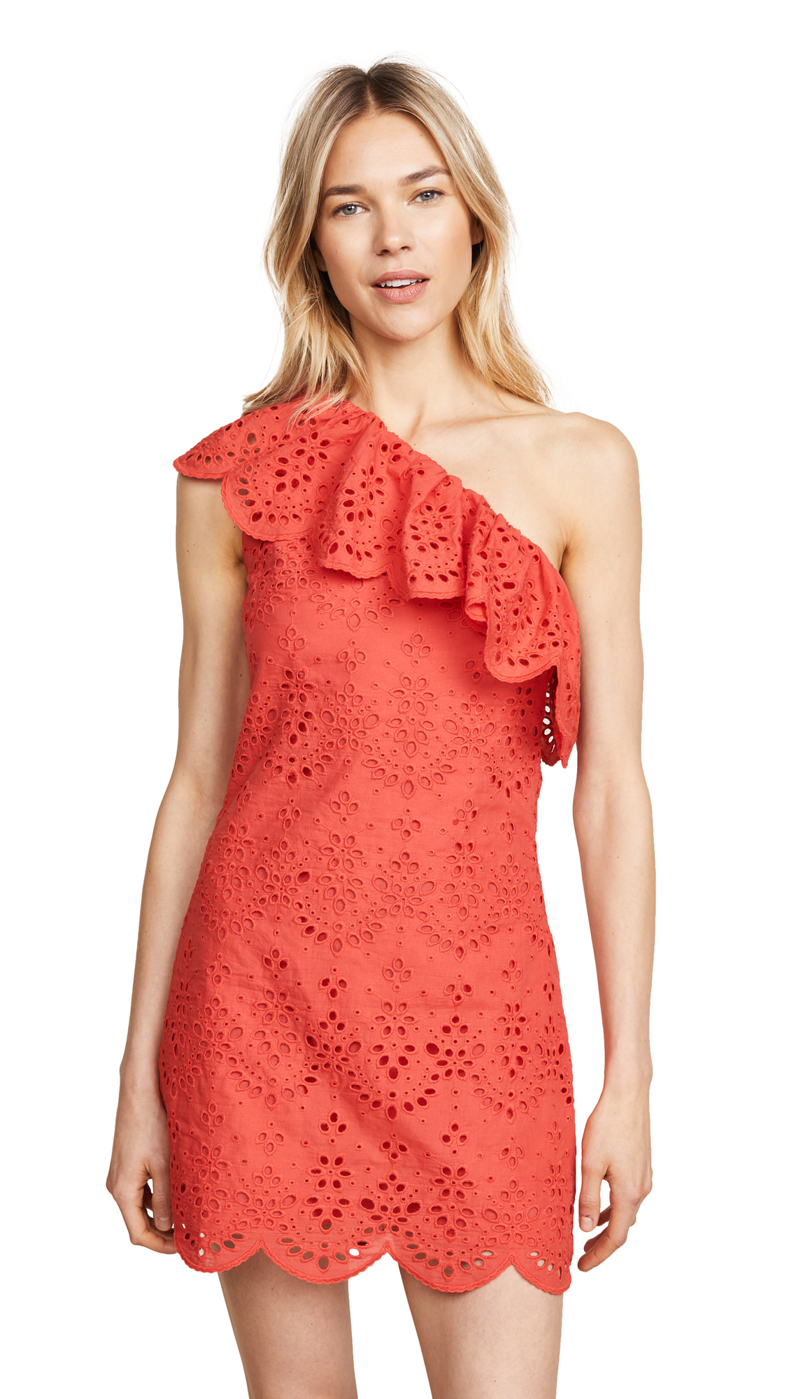 cupcakes and cashmere Cosmo Dress In Poppy Red