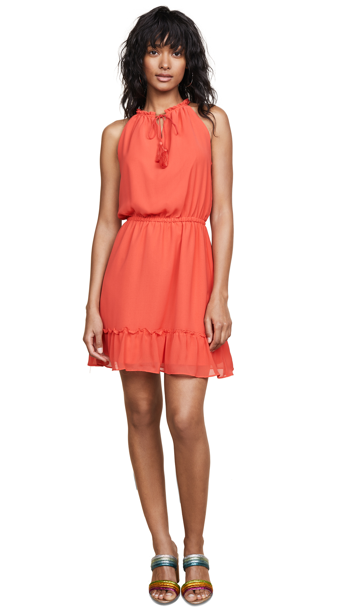 cupcakes and cashmere Damien Dress In Poppy Red