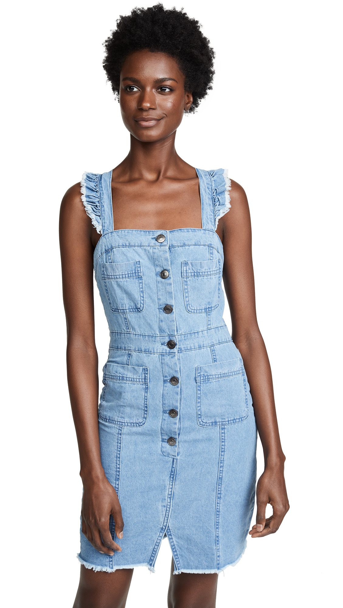 cupcakes and cashmere Ladonna Chambray Dress