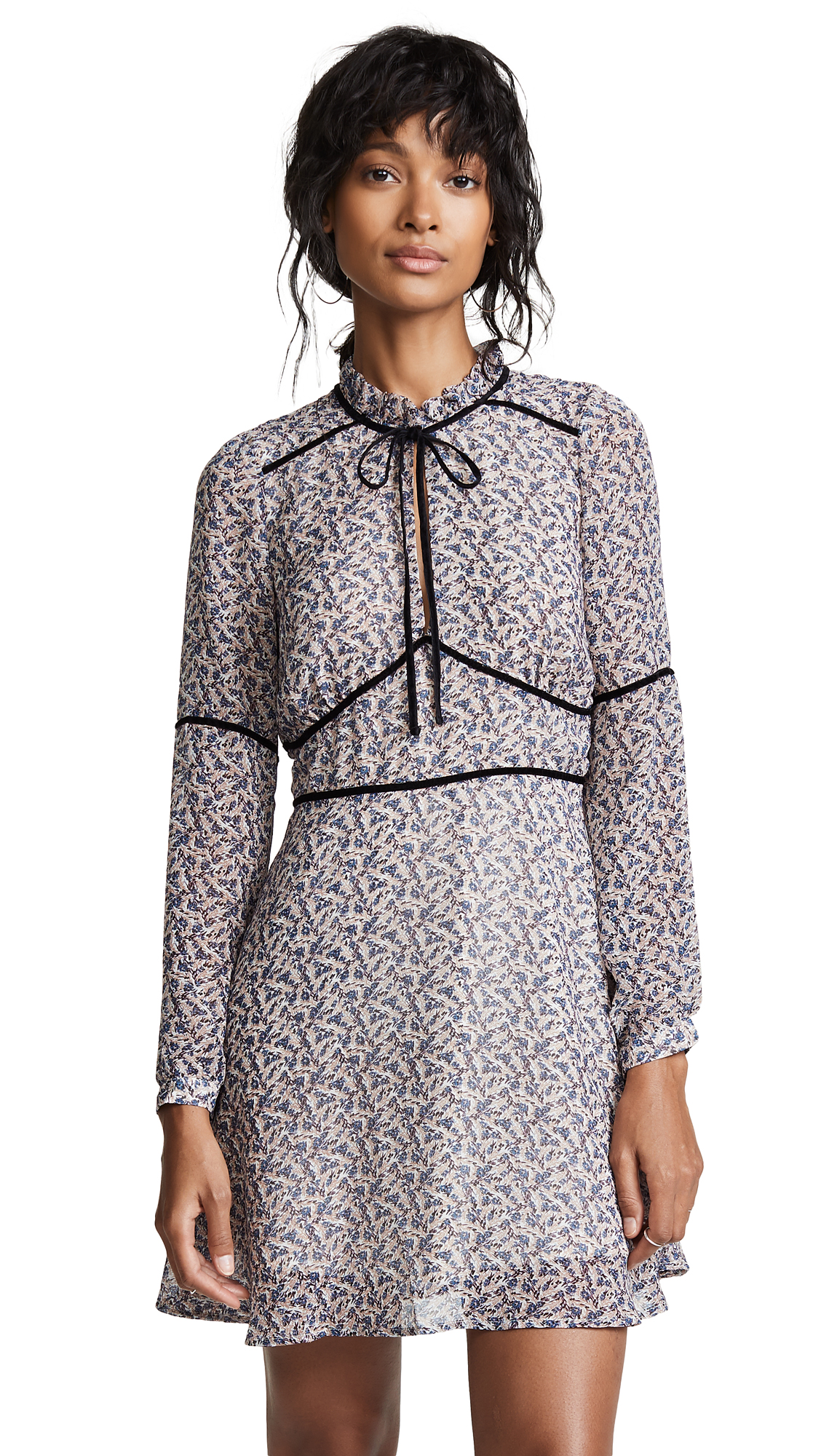 cupcakes and cashmere Laurena Delilah Ditsy Dress