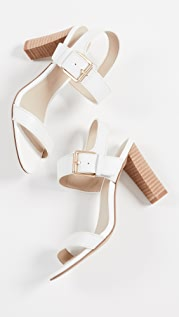 cupcakes and cashmere Gisela Block Heel Sandals