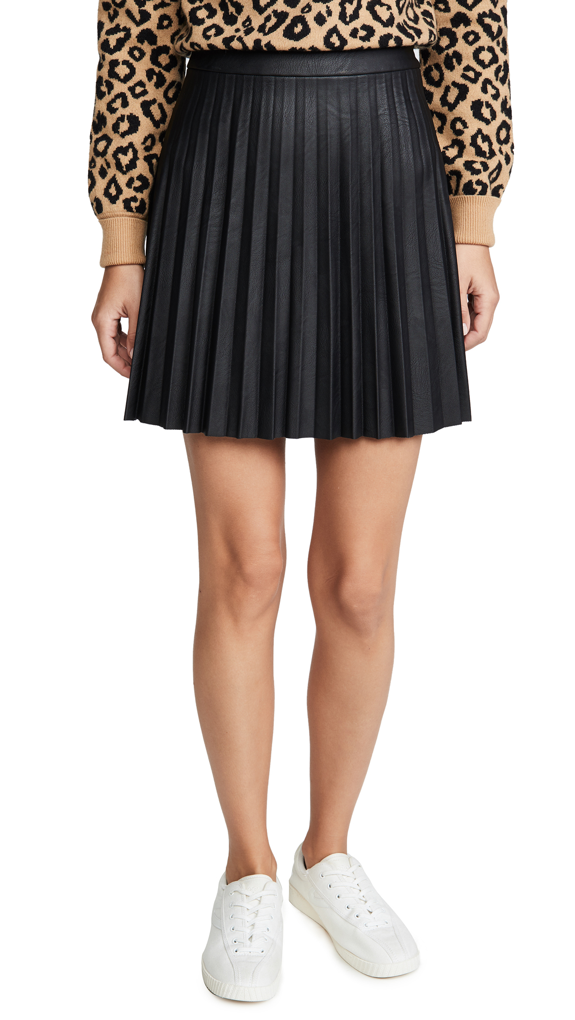 Buy cupcakes and cashmere online - photo of cupcakes and cashmere Cannes Faux Leather Skirt