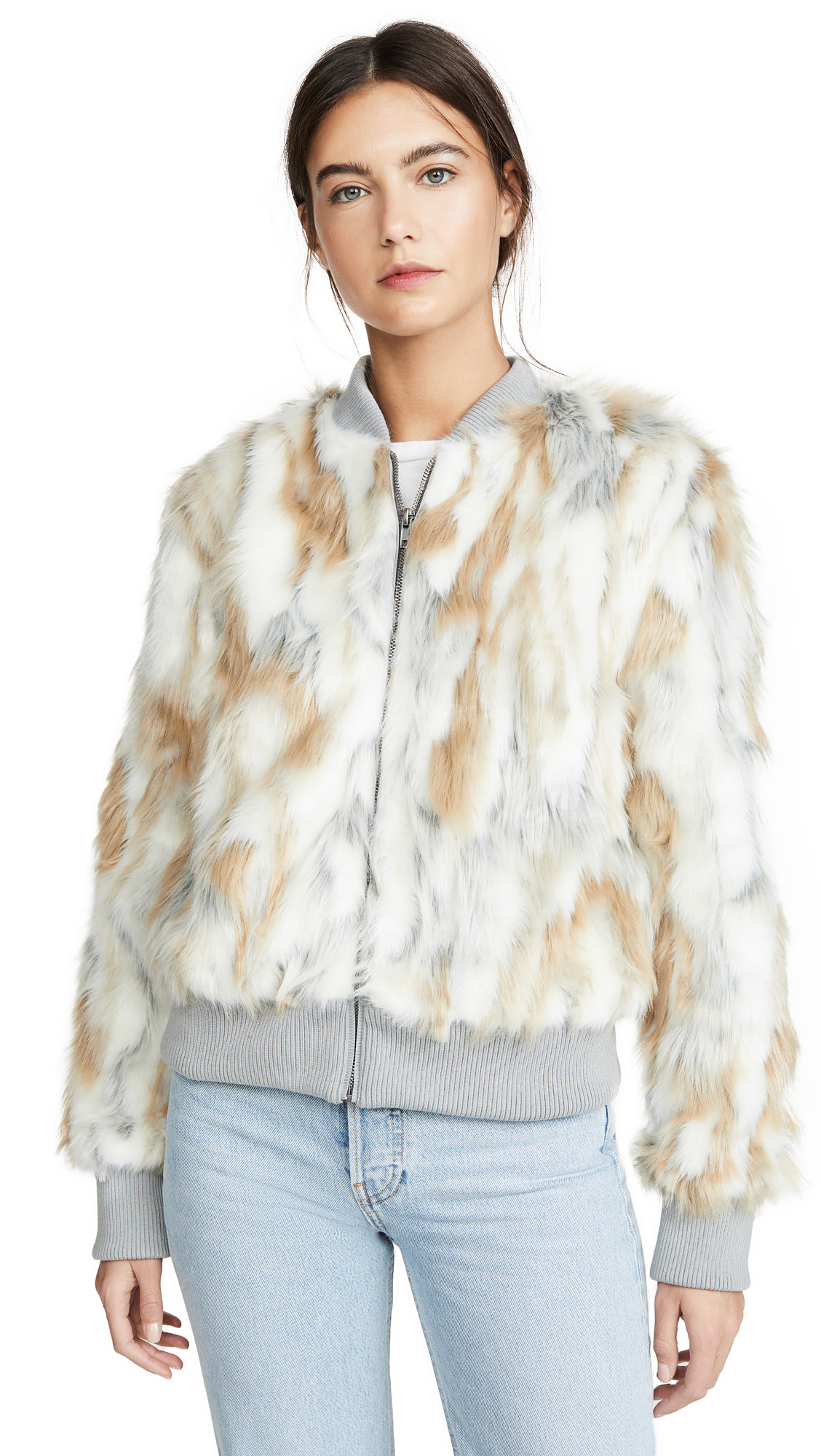 Buy cupcakes and cashmere Sia Faux Fur Jacket online beautiful cupcakes and cashmere Jackets, Coats, Down Jackets
