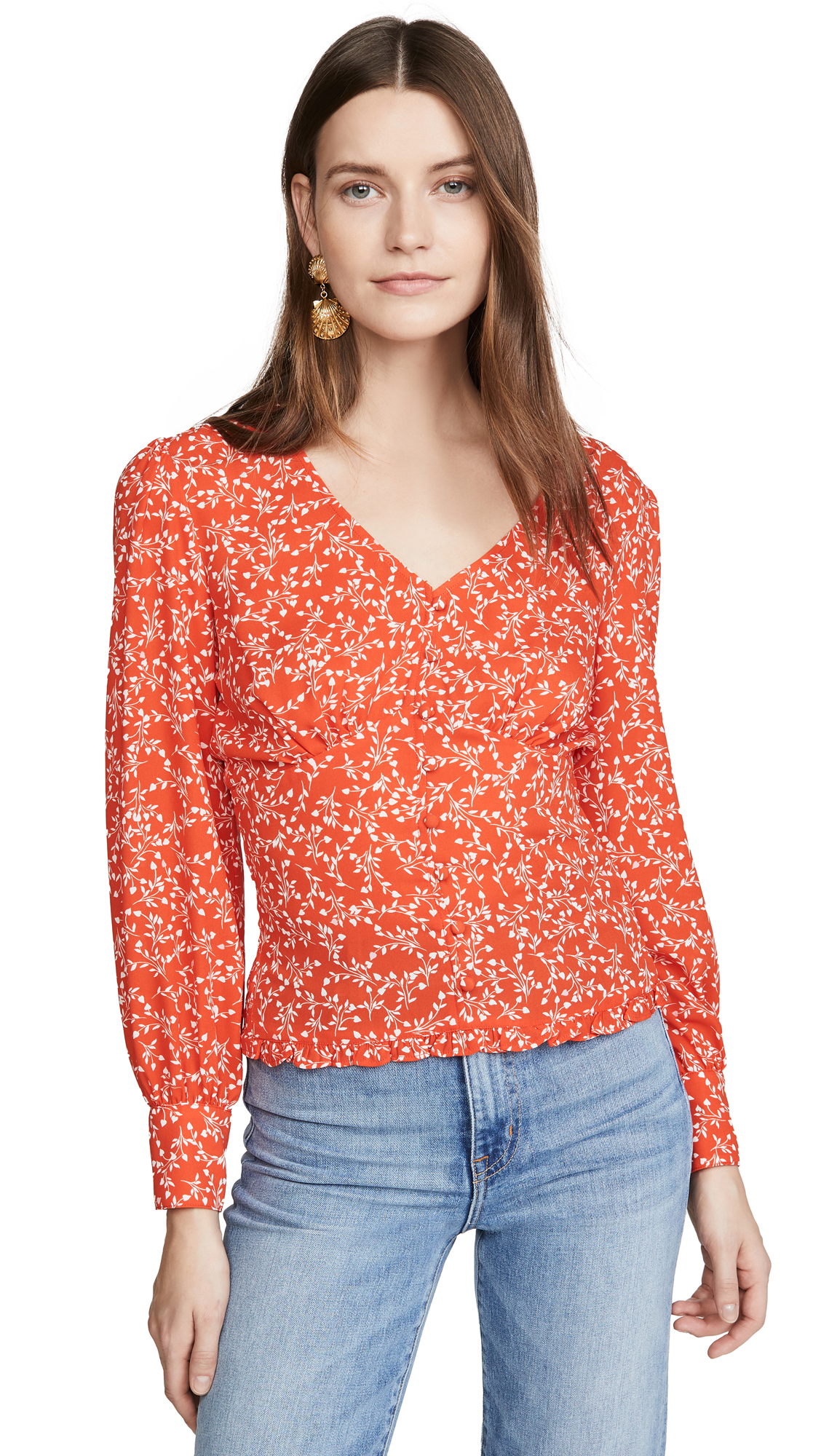 cupcakes and cashmere Portia Top - 40% Off Sale