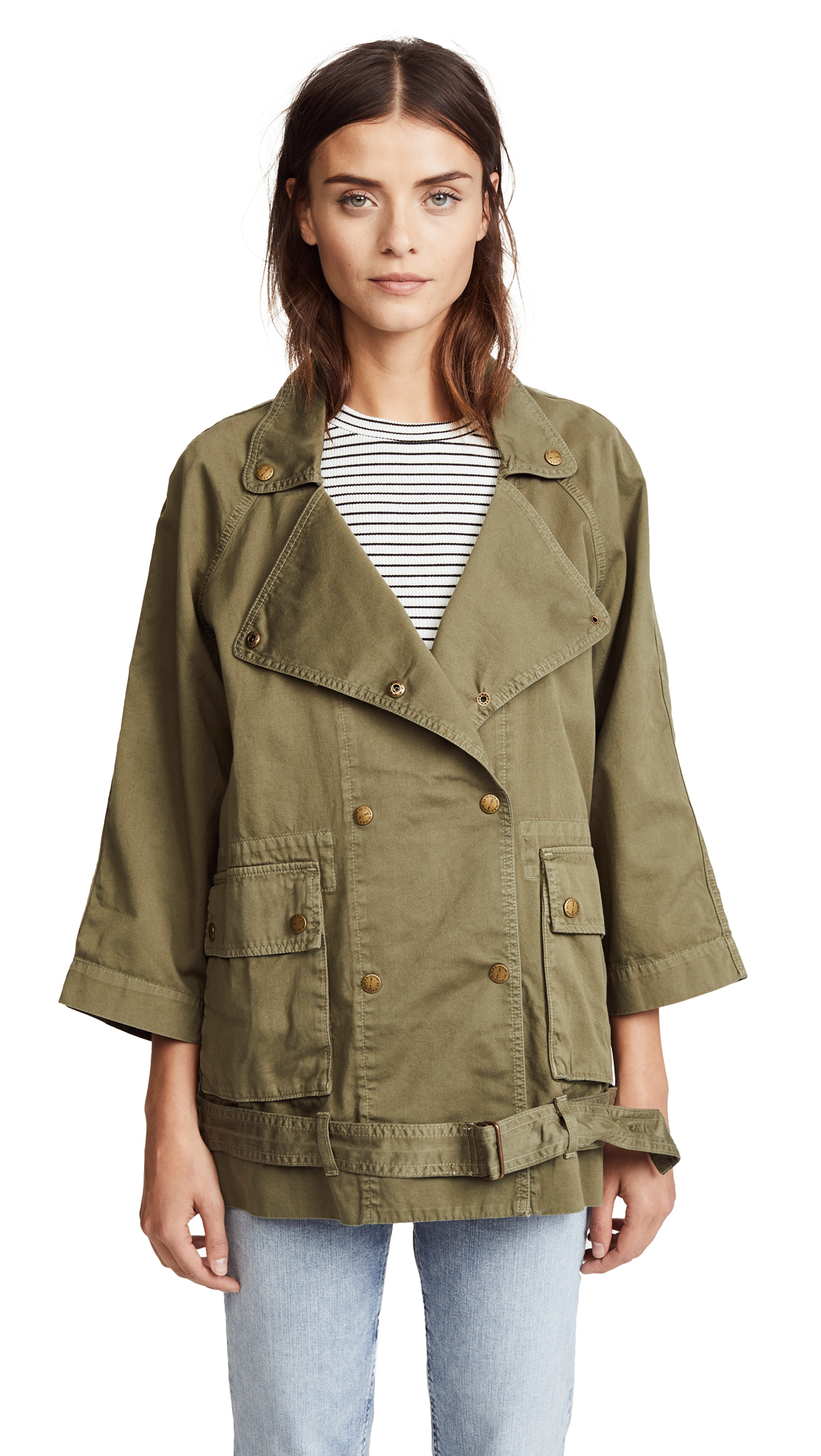 Current/Elliott The Infantry Jacket - Army