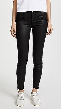 Current/Elliott. The Soho Zip Stiletto Jeans