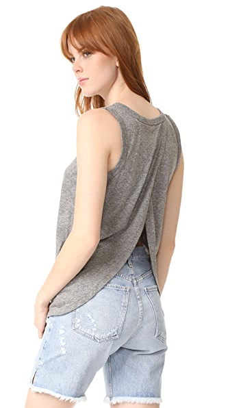 Current/Elliott The Cross Back Muscle Tee