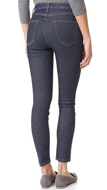 Current/Elliott Super High Waist Stiletto Jeans