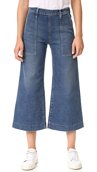 Current/Elliott The Culotte Jeans