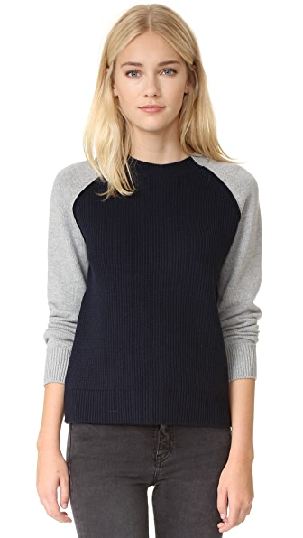 Current/Elliott The Colorblock Sweater