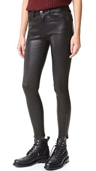 Current/Elliott Stiletto Leather Pants