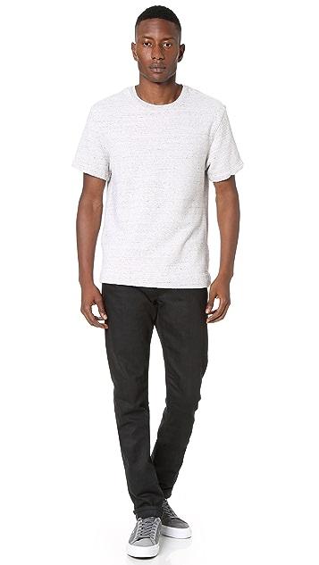 Current/Elliott Short Sleeve Sweatshirt
