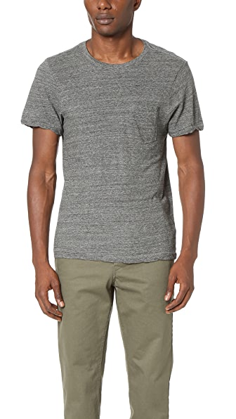 Current/Elliott Classic Fit Pocket Tee