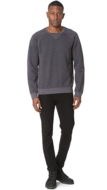 Current/Elliott Vintage Fleece OD Crew Sweatshirt