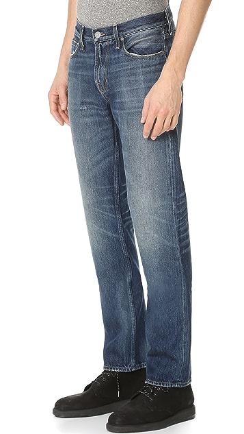Current/Elliott Original Straight Fit Jeans