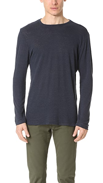 Current/Elliott Classic Fit Long Sleeve Tee