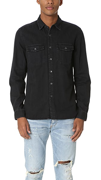Current/Elliott Ruler Fit 2 Pocket Shirt