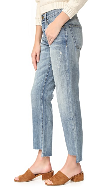 Current/Elliott The Crossover Jeans with Step Hem
