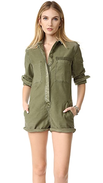 Current/Elliott Military Shortalls