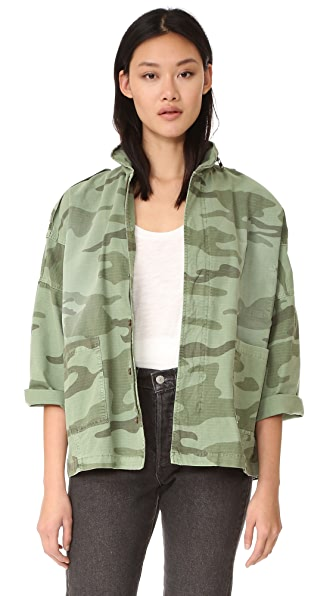 Current/Elliott The Fleet Admiral Jacket - Sea Grass Camo