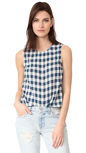 Current/Elliott The Boxy Cropped Top
