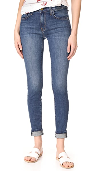 Current/Elliott High Waisted Skinny Jeans - Ellis