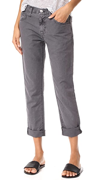 Current/Elliott The Fling Jeans In Pewter