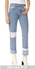 The DIY Original Straight Jeans Current/Elliott
