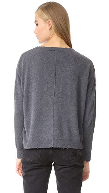 Current/Elliott The Destroyed Knit Sweater