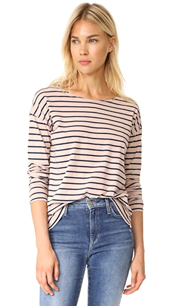 Current/Elliott The Breton Tee - Rose Dust