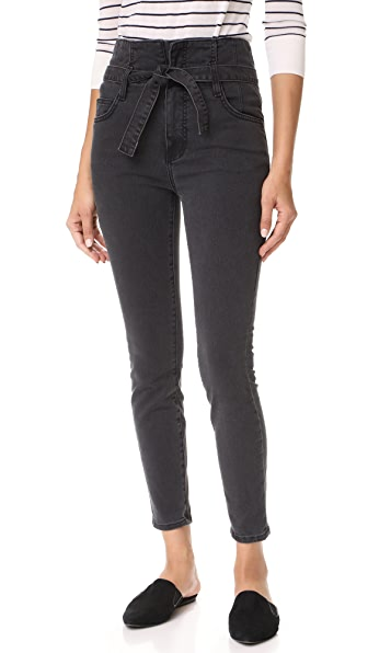 Current/Elliott The Corset Stiletto Jeans - Indiana