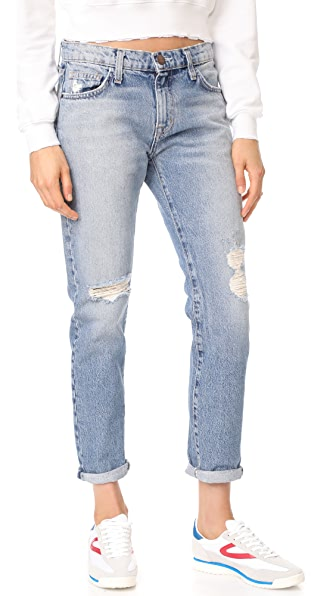 Current/Elliott The Fling Jeans - Pinyon Destroy