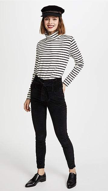 Current/Elliott The Velvet Corset Stiletto Jeans