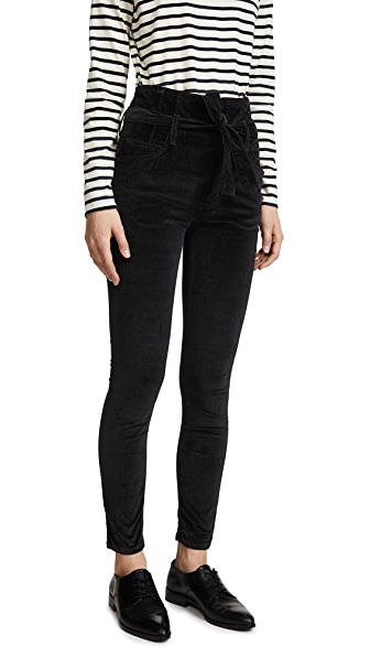 The Velvet Corset Stiletto Jeans