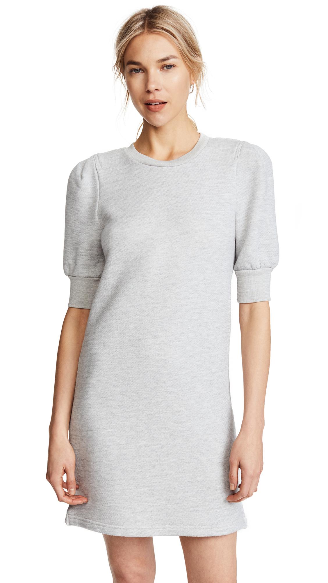 Current/Elliott The Pleat Sweatshirt Dress