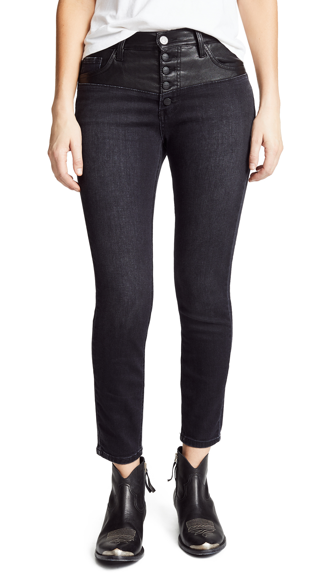 THE FUSED HIGHWAIST STILETTO JEANS