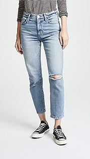 Current/Elliott The Vintage Cropped Slim Jeans