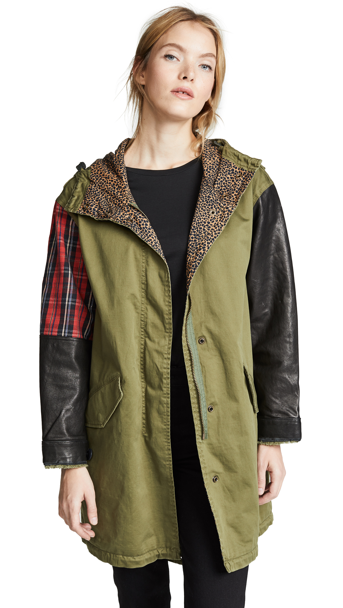 Current/Elliott The Harper Parka