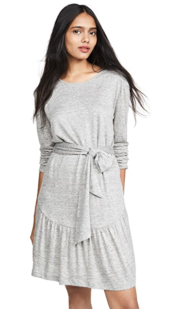 Current/Elliott The Crystal Long Sleeve Dress