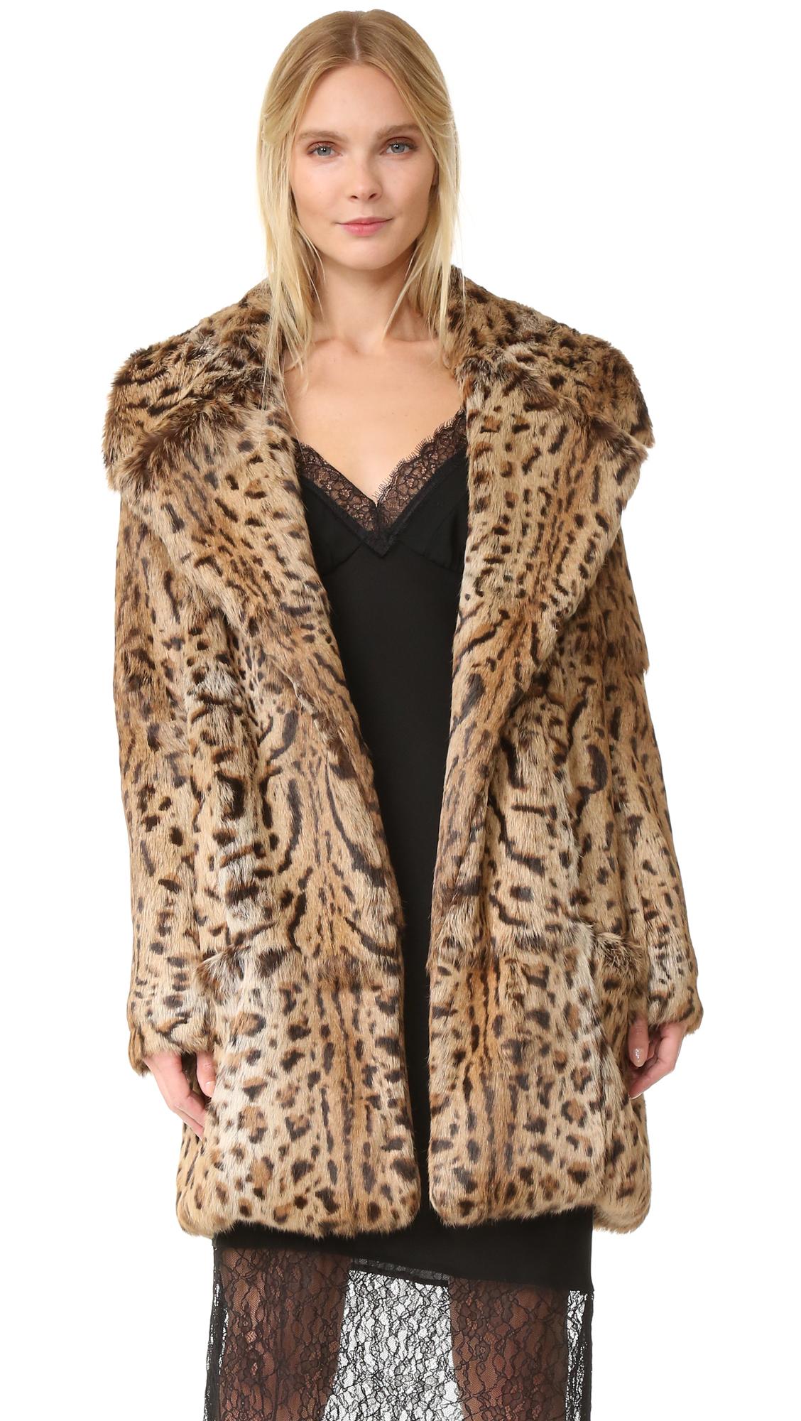 26b943330dd9 Cushnie Fur Coat | SHOPBOP