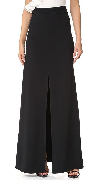 Cushnie Et Ochs Maxi Skirt - Black