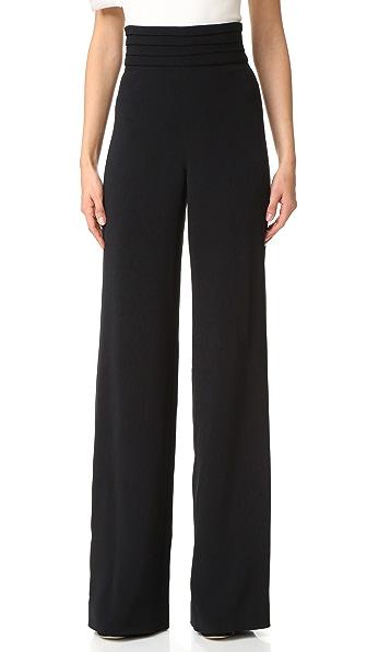 Cushnie Et Ochs High Waisted Pants In Black