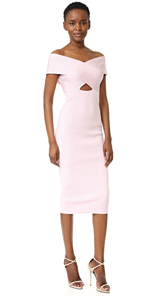 Cushnie Et Ochs Boat Neck Pencil Dress