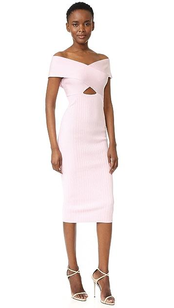 Cushnie Et Ochs Boat Neck Pencil Dress